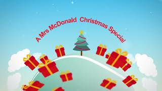 A Mrs McDonald Christmas Special!